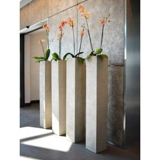 Macetas altas para plantas de interior