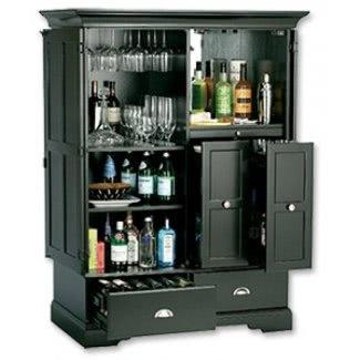 Esconde un mueble bar para bebidas