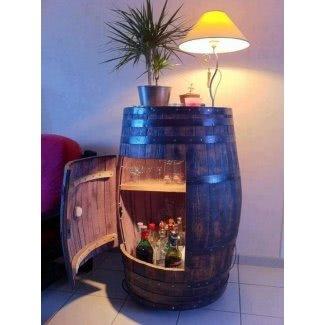 Esconda un mueble bar para bebidas