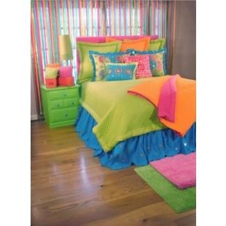 Ropa de cama de colores brillantes 16