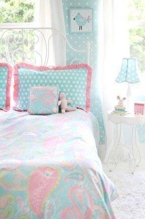 Pixie in Aqua Bedding Set