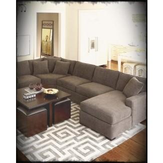 Ideas para decorar sofás de color carbón