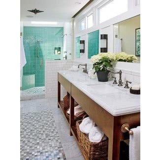 Ideas para baños costeros