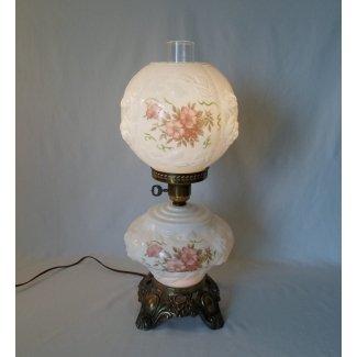 Vintage se fue con la lámpara de viento 1