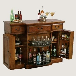 Mueble bar oculto