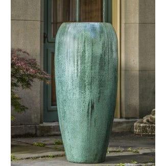 Maceteros altos de cerámica 18
