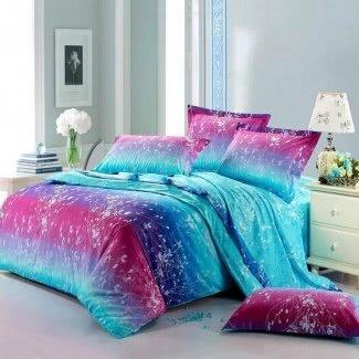 Juegos de cama de colores brillantes