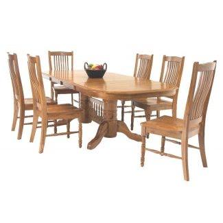 Mesa de comedor con tablero laminado