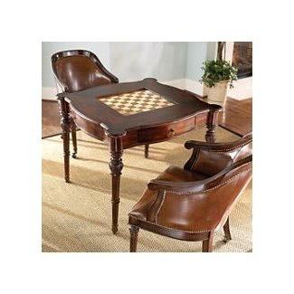 Mesa y sillas de ajedrez 1
