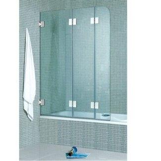Puerta de bañera plegable de 3 paneles 1