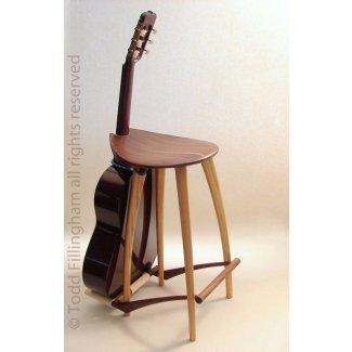 Taburete de guitarra soporte de guitarra 3