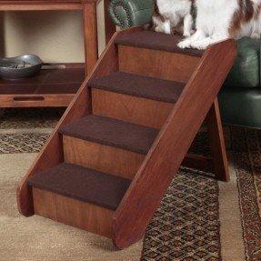 """PupStep Wood 4 Step 24 """"Pet Stair"""