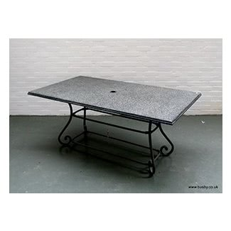 Patio superior de granito mesa