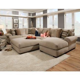 Sofá de asiento ancho 1