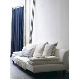 Sofás seccionales de asiento ancho