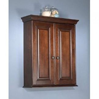 Foremost HANW2428 Hawthorne Wall Cabinet, Dark Walnut