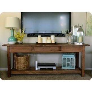 Mesas consolas de TV de pantalla plana