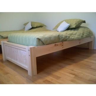 Planos de cama con plataforma doble