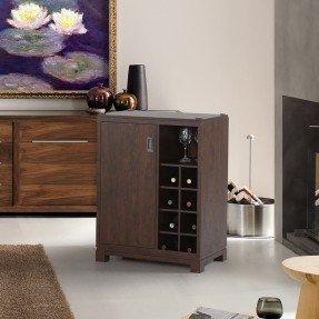 Mueble bar con almacenamiento de vino