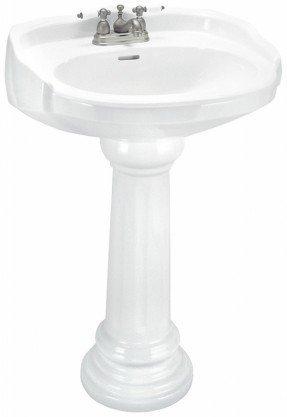 Juego de lavabo con pedestal Aberdeen