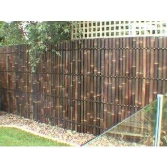 Paneles de bambú para exteriores 1