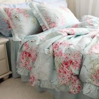 Ropa de cama elegante shabby chic