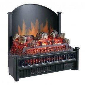 Calentador de leños para chimenea eléctrica