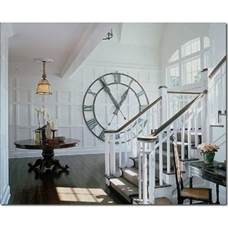 Reloj de pared gigante de reloj de pulsera