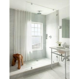 Cortinas de ducha para ventana de baño