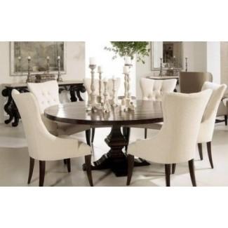 Mesa de comedor redonda para 8 personas 1