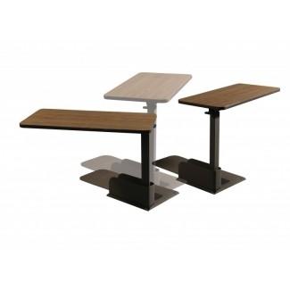 Mesa reclinable sobre mesa