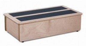 Taburete escalonado de madera de abedul báltico de 1 escalón