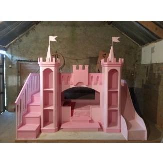 Litera de castillo de bricolaje