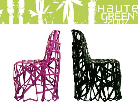 residuos de plástico-silla