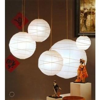 Lámparas colgantes japonesas 14