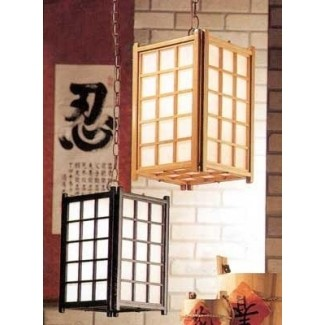 Lámparas japonesas 1