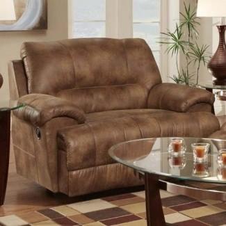Silla y medio sillón reclinable mecedora 1
