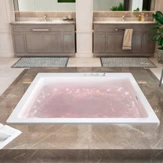 Bañera de hidromasaje extragrande de primera calidad