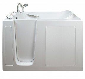 Bañera de hidromasaje estrecha y ancha