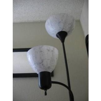 Pantallas de lámpara de plástico baratas en lámpara de plástico bonita y barata
