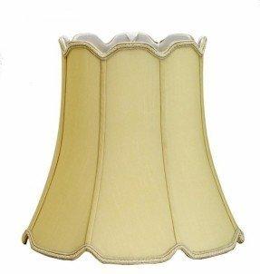 """14"""" Pantalla de lámpara Shantung Soft Bell"""
