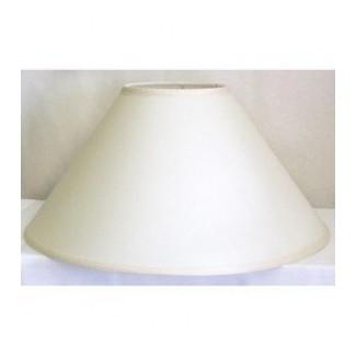 Pantalla de lámpara de coolie blanco roto 1
