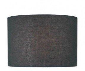 Pantalla de lámpara de tambor de tela