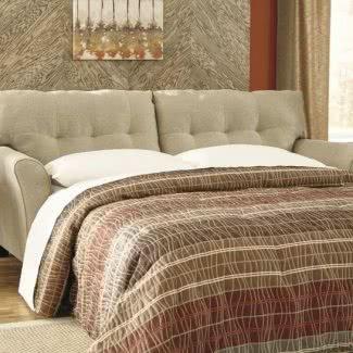 Sofá cama tamaño queen de poliéster