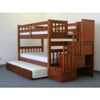 Literas triples para habitaciones de niños