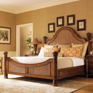 Juego de dormitorio personalizable con panel Island Estate