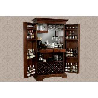 Mueble bar con llave