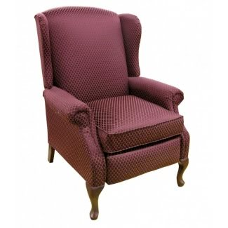 Sillones reclinables Queen anne