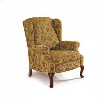Muebles reclinables para carriles Heathgate High-Leg recliner en Goldenrod