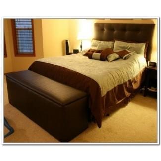 Banco de la cama tamaño king